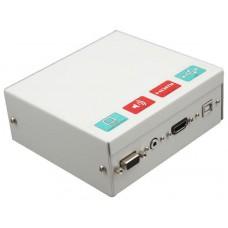 Caja conex. Pizarr.con conecHDMI+ cables10m