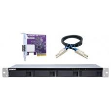 "QNAP TL-R400S caja para disco duro externo Carcasa de disco duro/SSD Negro, Gris 2.5/3.5"" (Espera 4 dias)"
