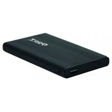 CAJA EXTERNA 2.5 TOOQ 95 MM SATA USB 2.0 NEGRA TOOQ