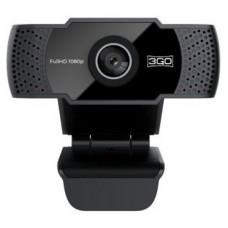 WEBCAM 3GO VIEWPLUS FULLHD 1080P USB NEGRA (Espera 4 dias)